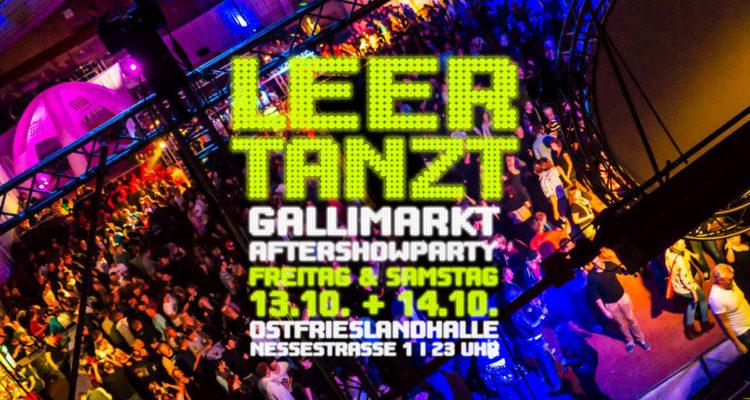 Leer tanzt Gallimarkt Aftershow Ostfrieslandhalle