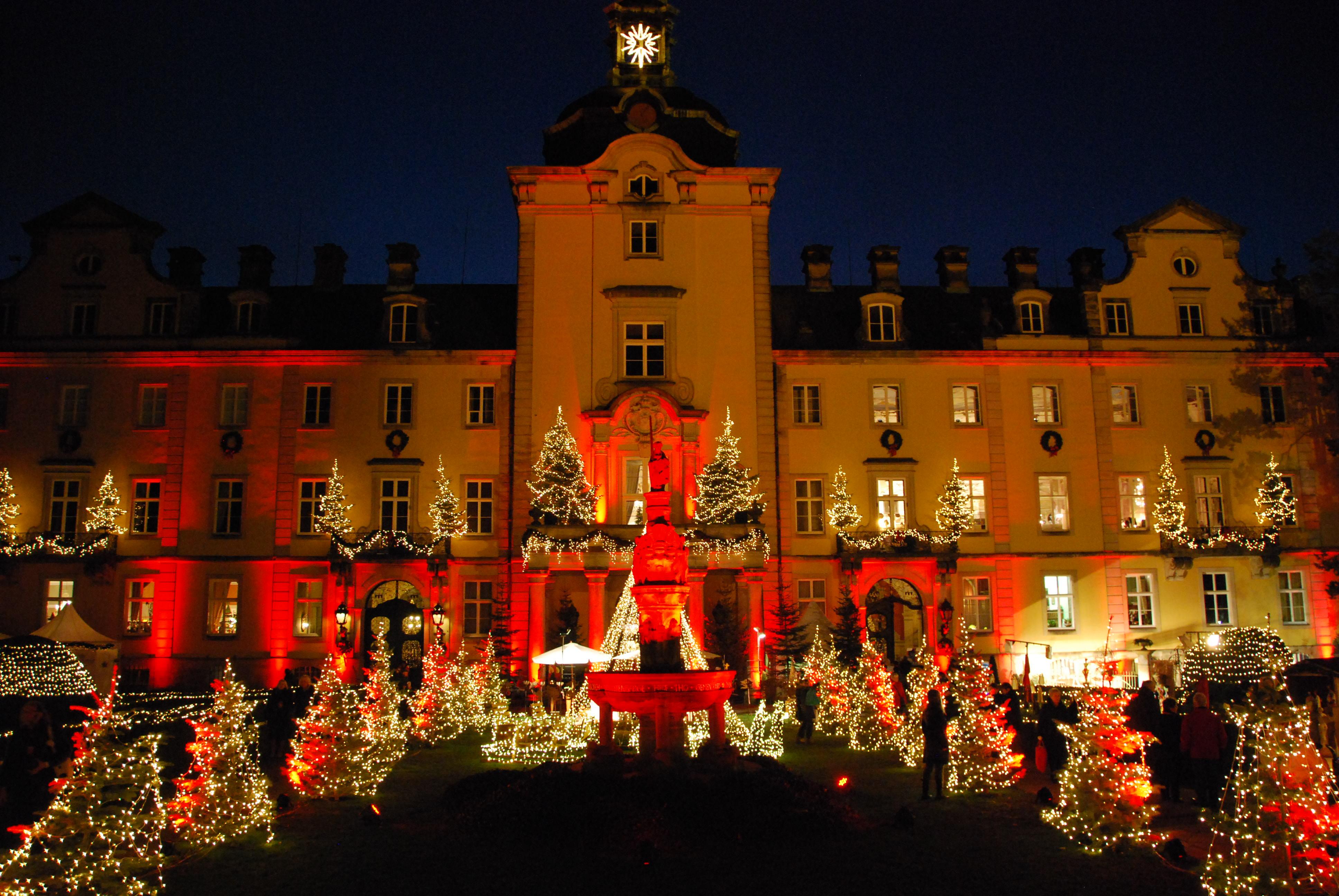 Weihnachtszauber-Schloss Bueckeburg
